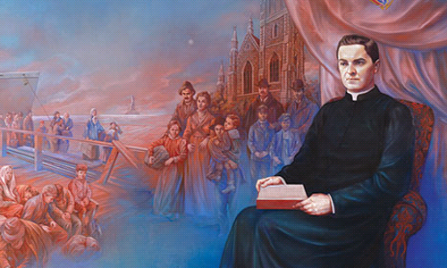 With Father McGivney, favors abound