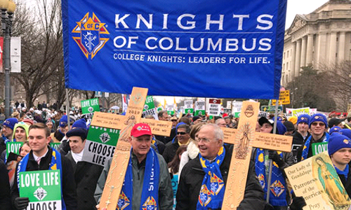 Supreme Knight to Receive Award at March for Life